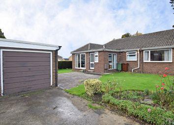 Thumbnail 2 bed semi-detached bungalow for sale in Shepstye Road, Horbury, Wakefield