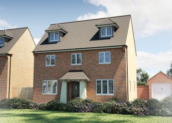 "Thumbnail 4 bed detached house for sale in ""The Landguard"" at Winchester Road, Fair Oak, Eastleigh"