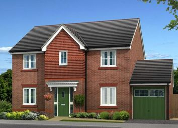 Thumbnail 4 bedroom detached house for sale in Plot 3, Biddulph Road, Congleton, Cheshire