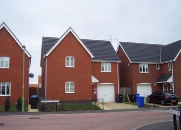 Thumbnail 4 bed detached house to rent in Rushton Drive, Carlton Colville, Lowestoft