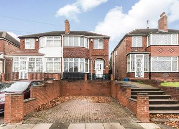 Thumbnail 3 bed semi-detached house for sale in Turnberry Road, Birmingham, West Midlands