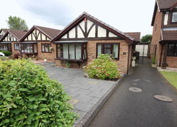 Thumbnail 2 bed detached bungalow for sale in Derek Drive, Sneyd Green, Staffordshire