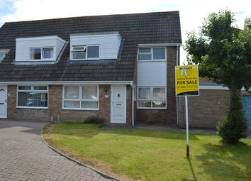 Thumbnail 3 bed semi-detached house for sale in Cardigan Crescent, Llantwit Major