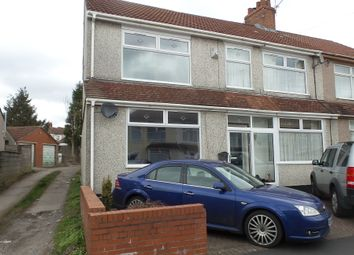 Thumbnail 2 bed semi-detached house to rent in Newent Avenue, Kingswood Bristol