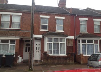 Thumbnail 3 bed terraced house to rent in Norman Road, Luton, Beds