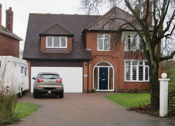 Thumbnail 5 bed detached house for sale in Main Road, Jacksdale
