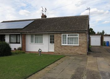 Thumbnail 2 bedroom semi-detached bungalow for sale in Tower Mill Road, Bungay