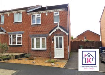 Thumbnail 3 bed semi-detached house to rent in Hodson Way, Cannock