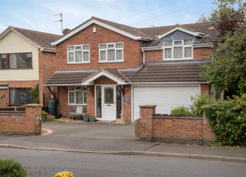 Thumbnail 5 bed detached house for sale in Roseway, Stoke Golding, Nuneaton