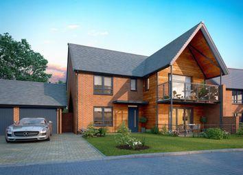 "Thumbnail 4 bedroom detached house for sale in ""Vilmaris"" at Bedhampton Hill, Bedhampton, Havant"