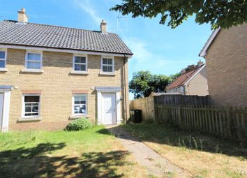 Thumbnail 2 bed semi-detached house for sale in Bradfield Drive, Martham, Great Yarmouth