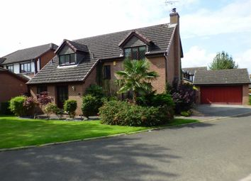 Thumbnail 4 bed detached house for sale in Barlow Way, Sandbach