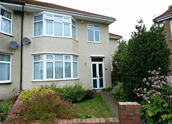 Thumbnail 4 bed end terrace house for sale in Stoneleigh Crescent, Knowle, Bristol