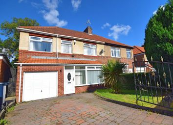 Thumbnail 4 bed property for sale in Elsdon Gardens, Dunston, Gateshead