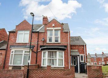 Thumbnail 3 bedroom end terrace house for sale in Rokeby Villas, Lemington, Newcastle Upon Tyne