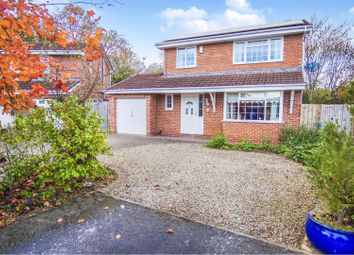 Thumbnail 4 bed detached house for sale in Dudley Drive, Newton Aycliffe