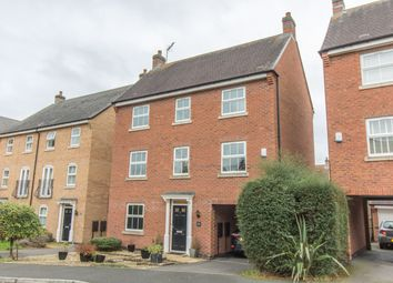 Thumbnail 4 bed detached house for sale in Crackthorne Drive, Rugby