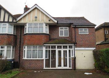 Thumbnail 4 bed semi-detached house for sale in Quinton Road, Harborne, Birmingham