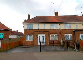 Thumbnail 3 bed semi-detached house for sale in Penarth Road, Northampton