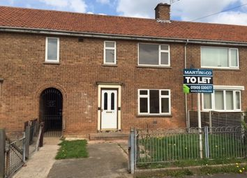 Thumbnail 3 bed terraced house to rent in Willow Avenue, Carlton-In-Lindrick, Worksop