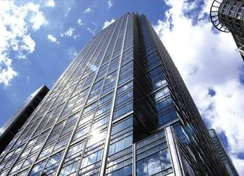 Thumbnail Serviced office to let in Canada Square, London