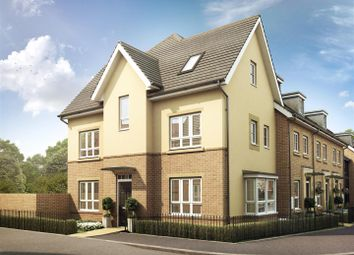 Thumbnail 4 bed end terrace house for sale in Knights Way, St. Ives, Huntingdon