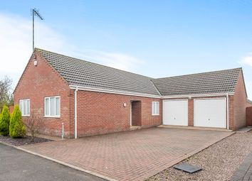 Thumbnail 3 bed detached bungalow for sale in Thurloe Close, Wisbech