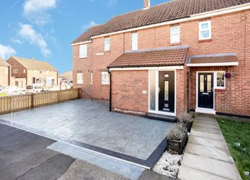 Thumbnail 3 bed semi-detached house for sale in Briar Grove, Trimdon Village, Durham