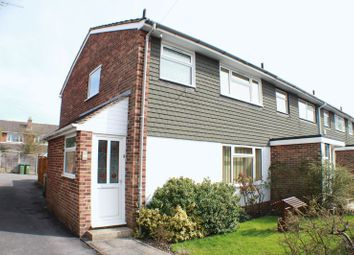 Thumbnail 3 bed end terrace house for sale in Burgundy Close, Locks Heath, Southampton