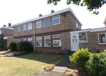 Thumbnail 3 bed semi-detached house for sale in Emmerton Way, Wootton, Bedford, Bedfordshire