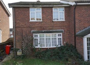 Thumbnail 3 bed end terrace house for sale in Leam Close, Greenstead, Colchester