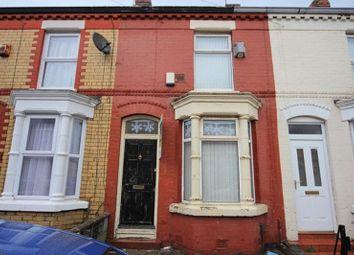 Thumbnail 2 bedroom terraced house for sale in Bartlett Street, Wavertree, Liverpool
