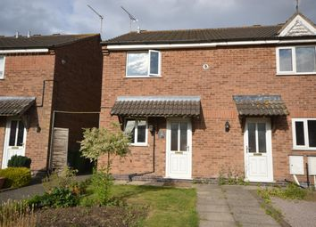 Thumbnail 2 bed end terrace house for sale in Heighton Crescent, Littlethorpe, Leicester