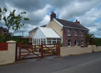 Thumbnail 4 bed detached house for sale in Porthyrhyd, Carmarthen