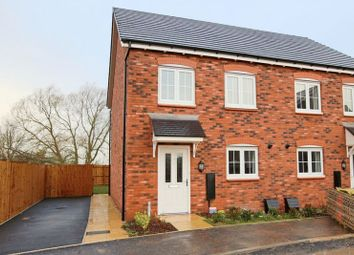 Thumbnail 3 bed semi-detached house for sale in Ravencroft Street, Moulton, Northwich
