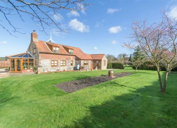 Thumbnail 4 bed detached house for sale in Clipstone Lane, Kettlestone, Fakenham