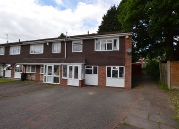 Thumbnail 3 bed end terrace house for sale in Parkfield Close, Lapal, Halesowen
