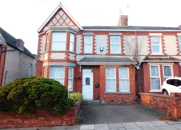 Thumbnail 4 bed flat for sale in Hillside Road, Wallasey