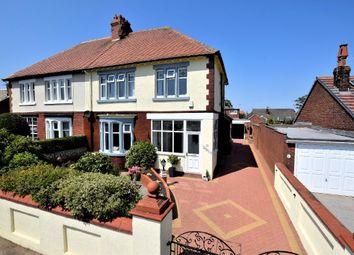 Thumbnail 4 bed semi-detached house for sale in Leamington Road, St Annes, Lytham St Annes, Lancashire