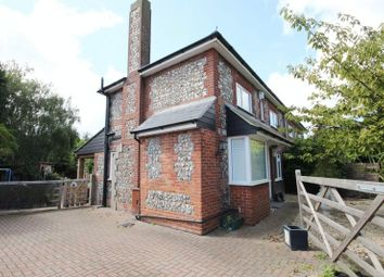 Thumbnail 3 bed semi-detached house for sale in Plaford Road, Sprowston, Norwich