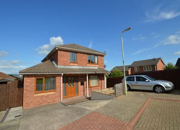 Thumbnail 4 bed detached house for sale in Heol Yr Onnen, Llanharry, Pontyclun