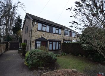 Thumbnail 4 bedroom semi-detached house to rent in Woodhall Park Mount, Stanningley, Pudsey, Leeds