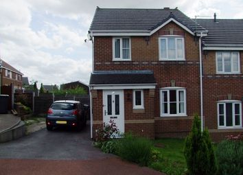 Thumbnail 3 bed semi-detached house to rent in Cop Road, Moorside, Oldham