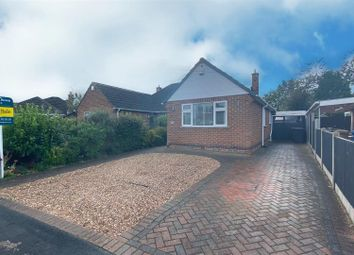 Thumbnail 2 bed bungalow for sale in Tresillian Close, Darley Abbey, Derby