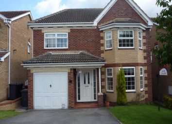 Thumbnail 4 bed detached house to rent in 6 Westminster Close, Bramley, Rotherham