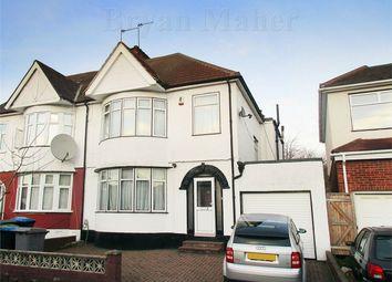 Thumbnail 4 bedroom semi-detached house for sale in Elmstead Avenue, Wembley