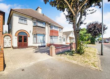 Thumbnail 3 bed property for sale in Upminster Road North, Rainham, Essex
