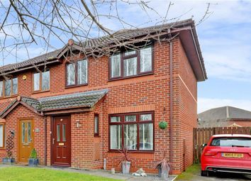 Thumbnail 2 bed semi-detached house for sale in Mendip Close, Winsford, Cheshire