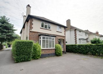 Thumbnail 4 bed detached house to rent in New Haw Road, Addlestone, Surrey