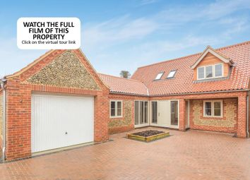 Thumbnail 3 bedroom detached house for sale in Morston Road, Blakeney, Holt